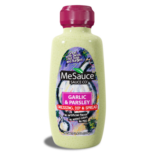 MeSauce - Garlic Parsley - Dressing, Dip & Spread
