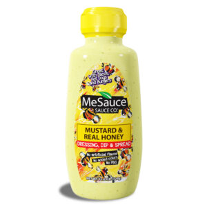 MeSauce - Mustard & Real Honey - Dressing, Dip & Spread